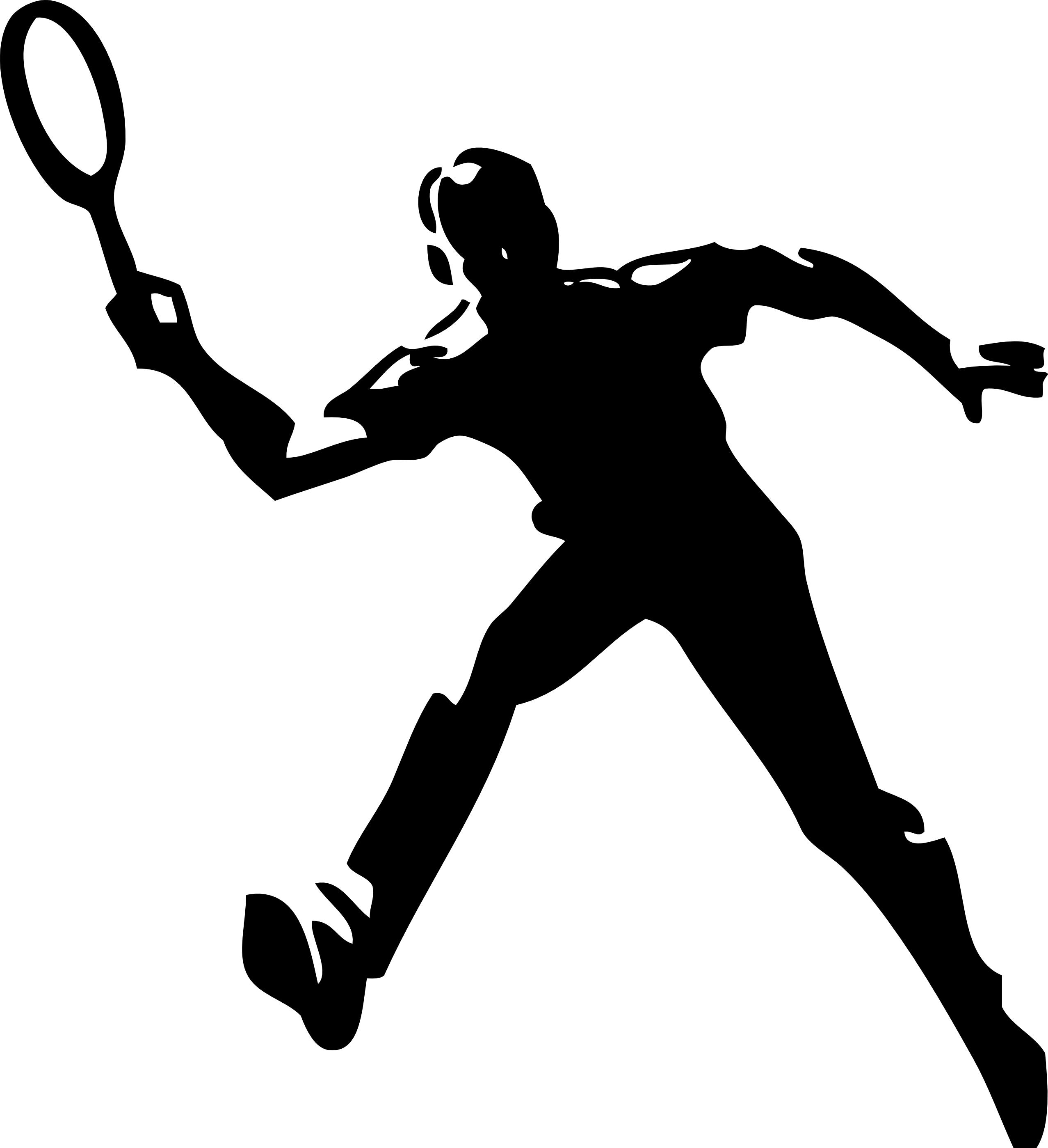 Men Clipart Tennis Men Tennis Transparent Free For Download On Webstockreview 2021