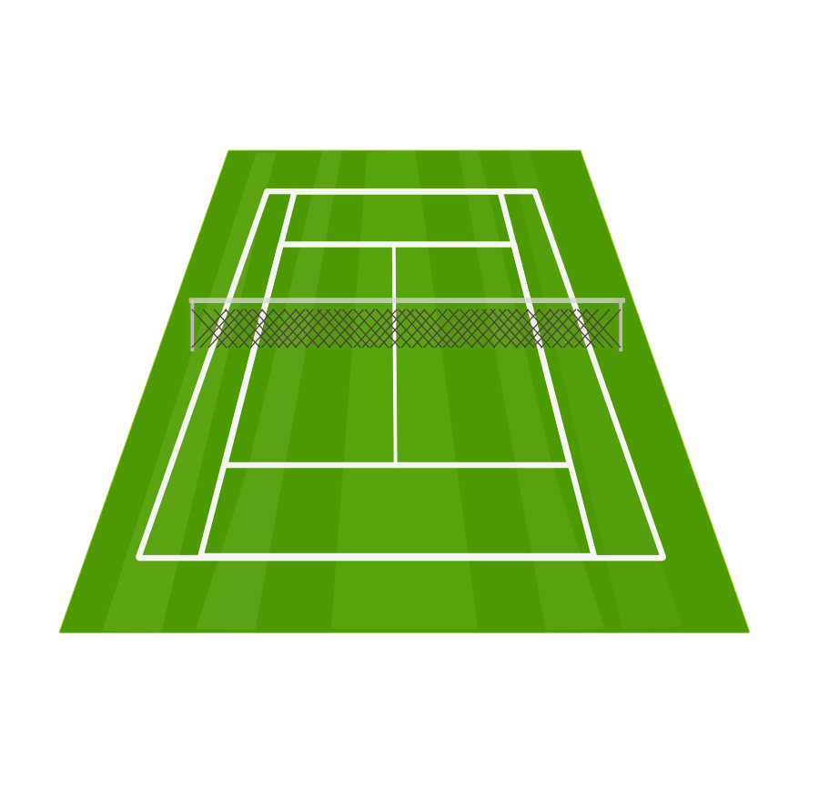 Clipart free tennis. Court