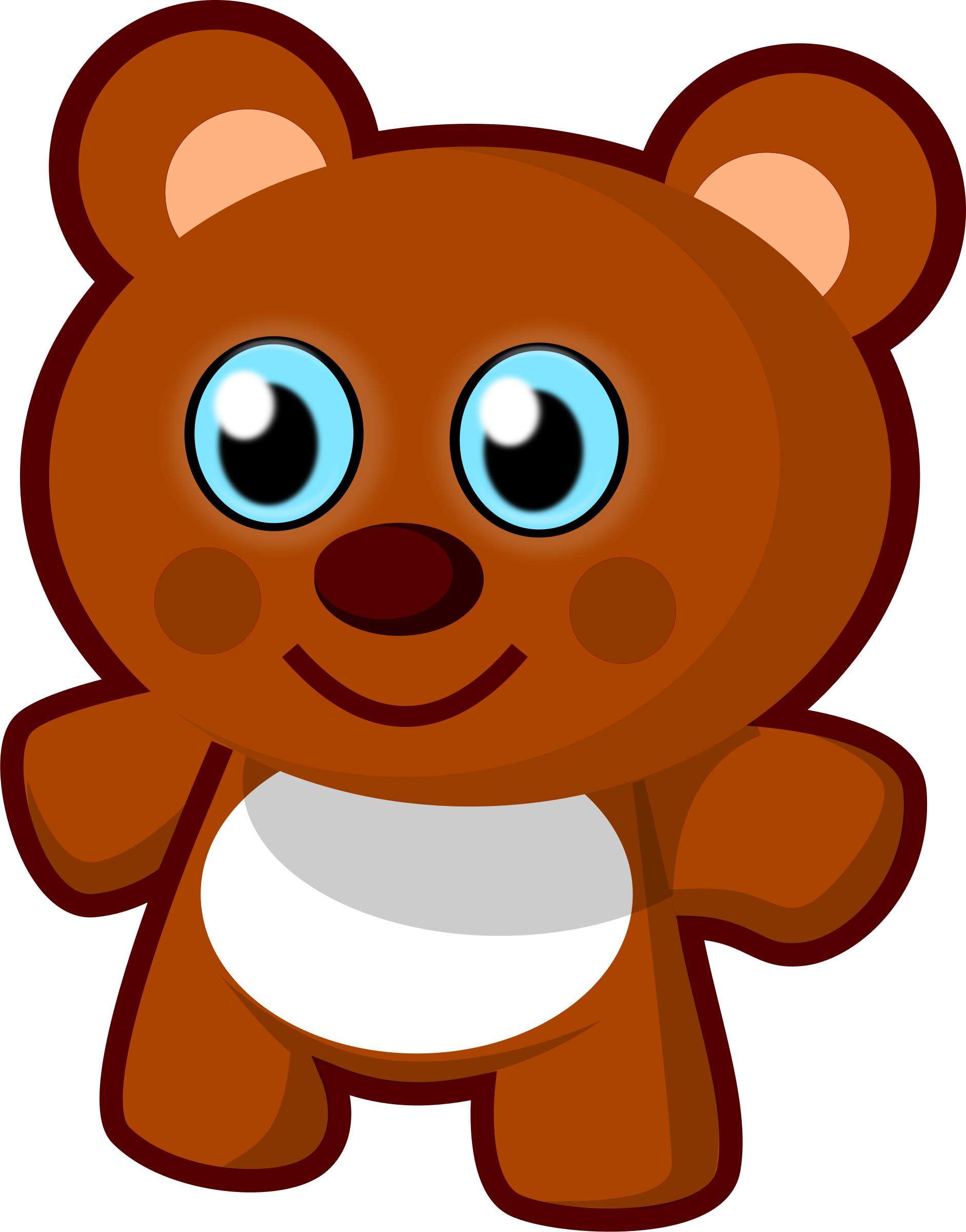 Free clipart toy. Little bear big image