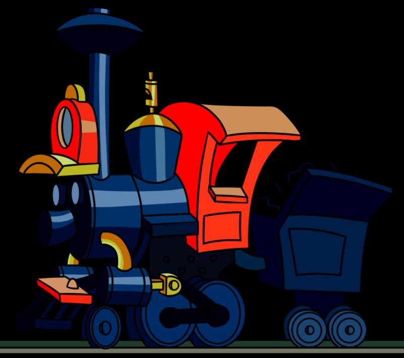 Free cliaprt black and. Clipart train mountain