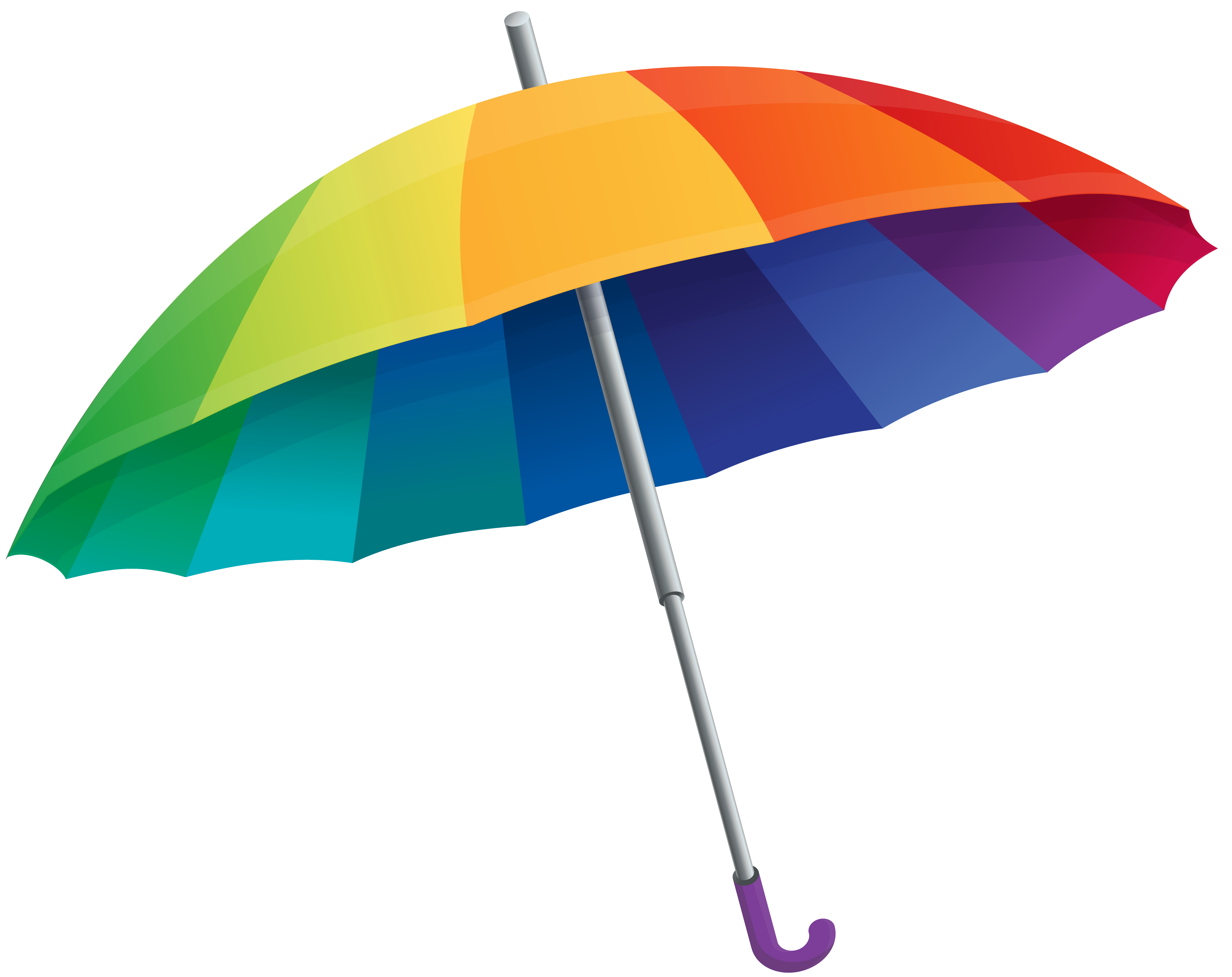Clipart umbrella autumn. Rainbow png image gallery