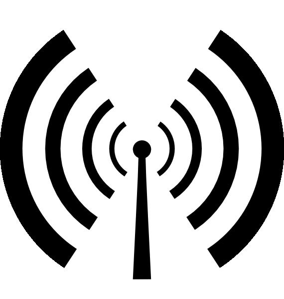 Antenna clip art at. Waves clipart svg