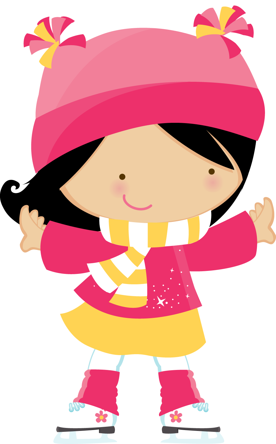 inspirational winter free. Number 1 clipart girly