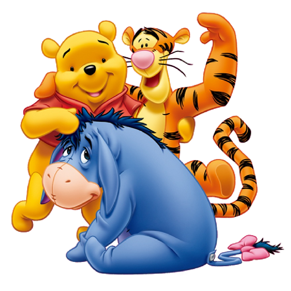 Clipart friends animated. Winnie the pooh easter