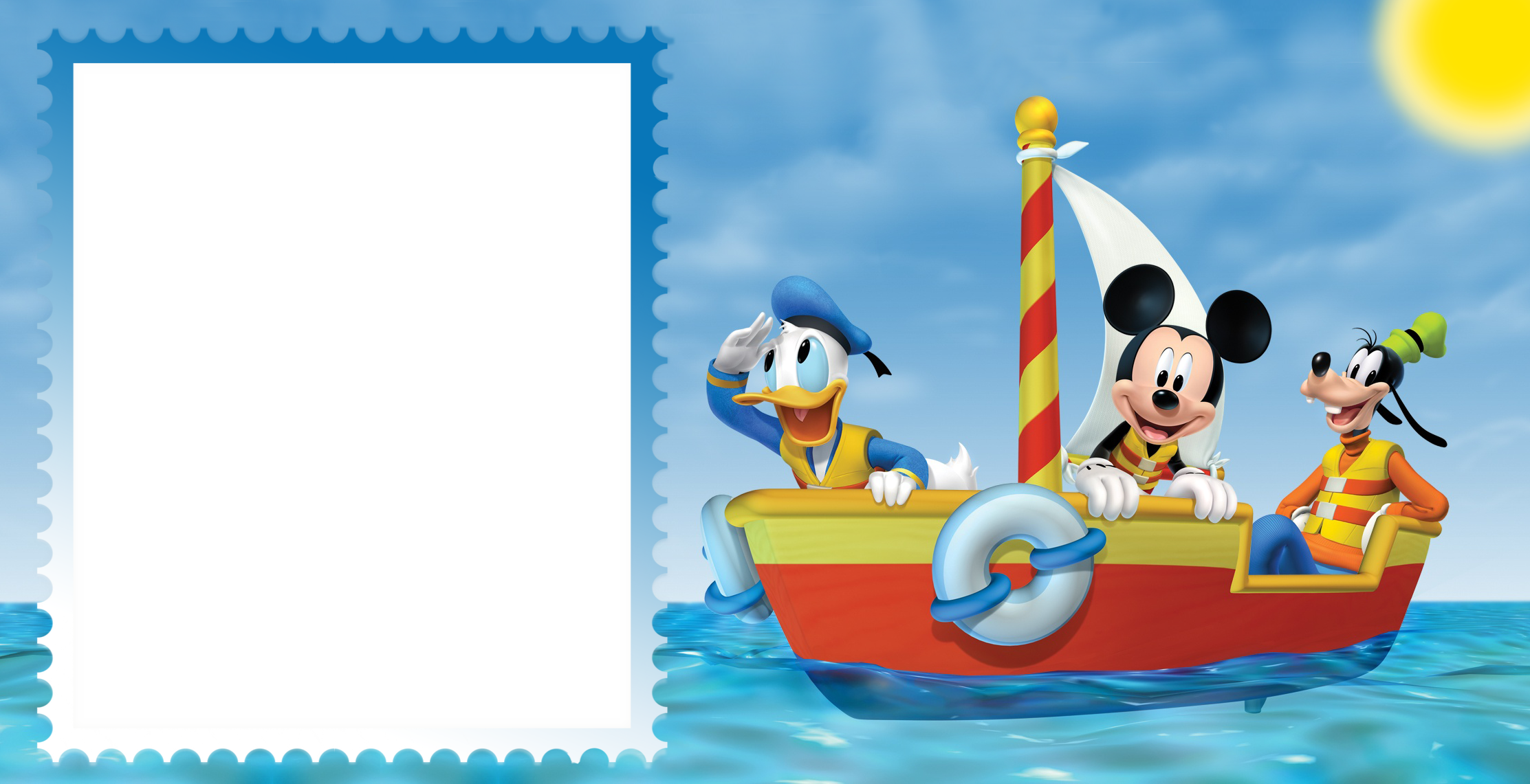 Mickey mouse frame png. Friends sea kids gallery