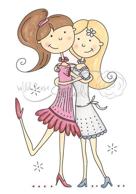 Friendship clipart bff. Pin by jennifer dezern