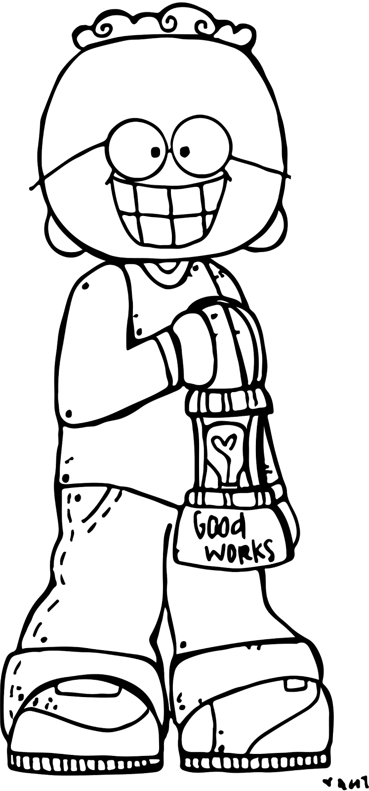 Worry clipart black and white. Melonheadz lds illustrating light