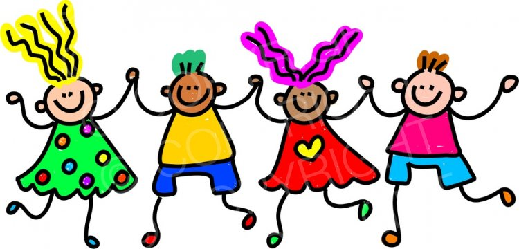 Toddler art happy friends. Friend clipart cartoon