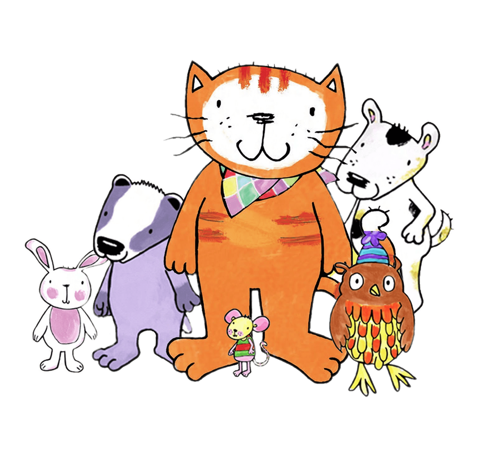 Friends clipart cat. Poppy and transparent png