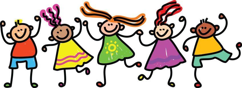 Friendship clipart many friend. Free clip art children