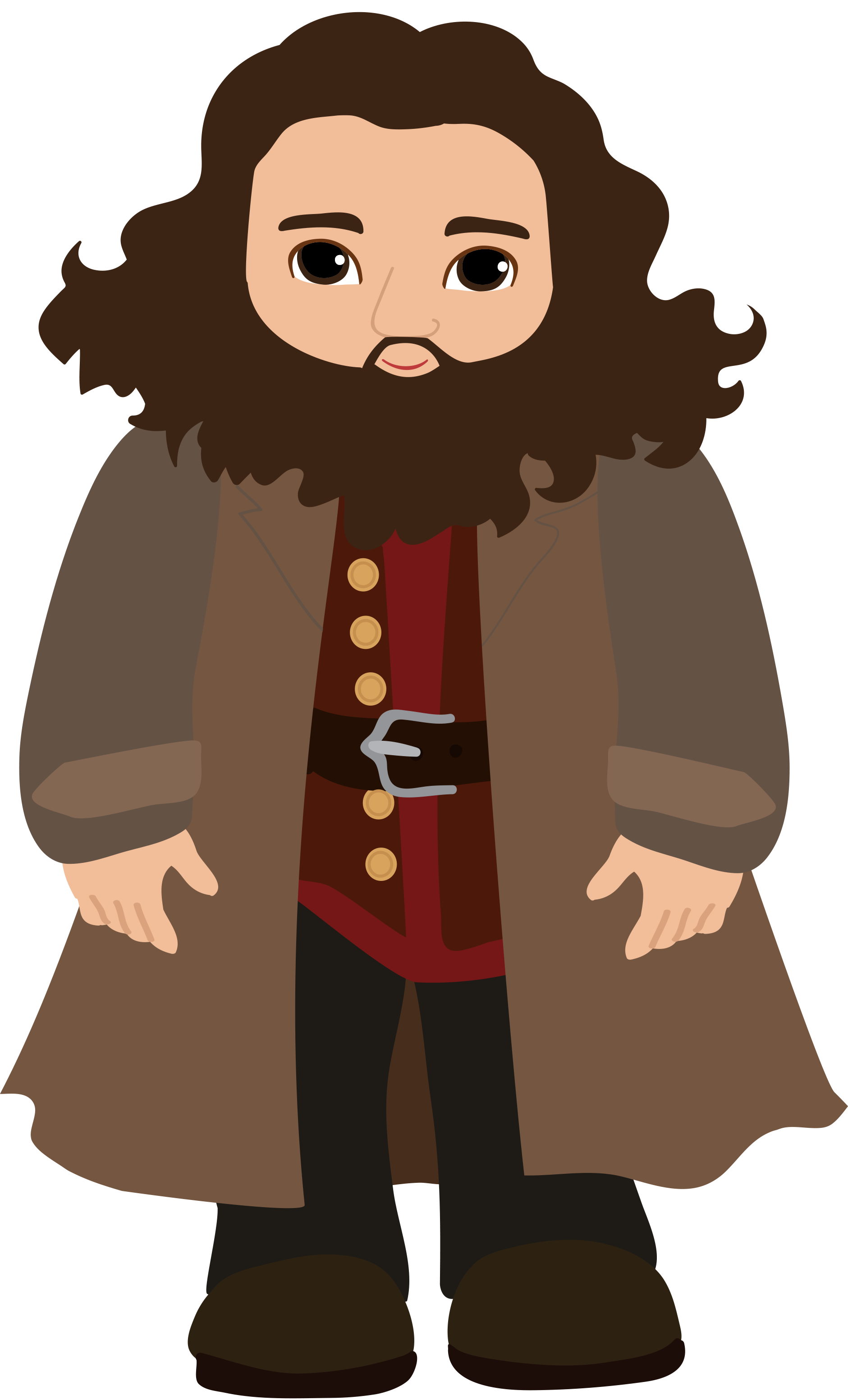 Clipart friends counter. Hagrid n stenka https