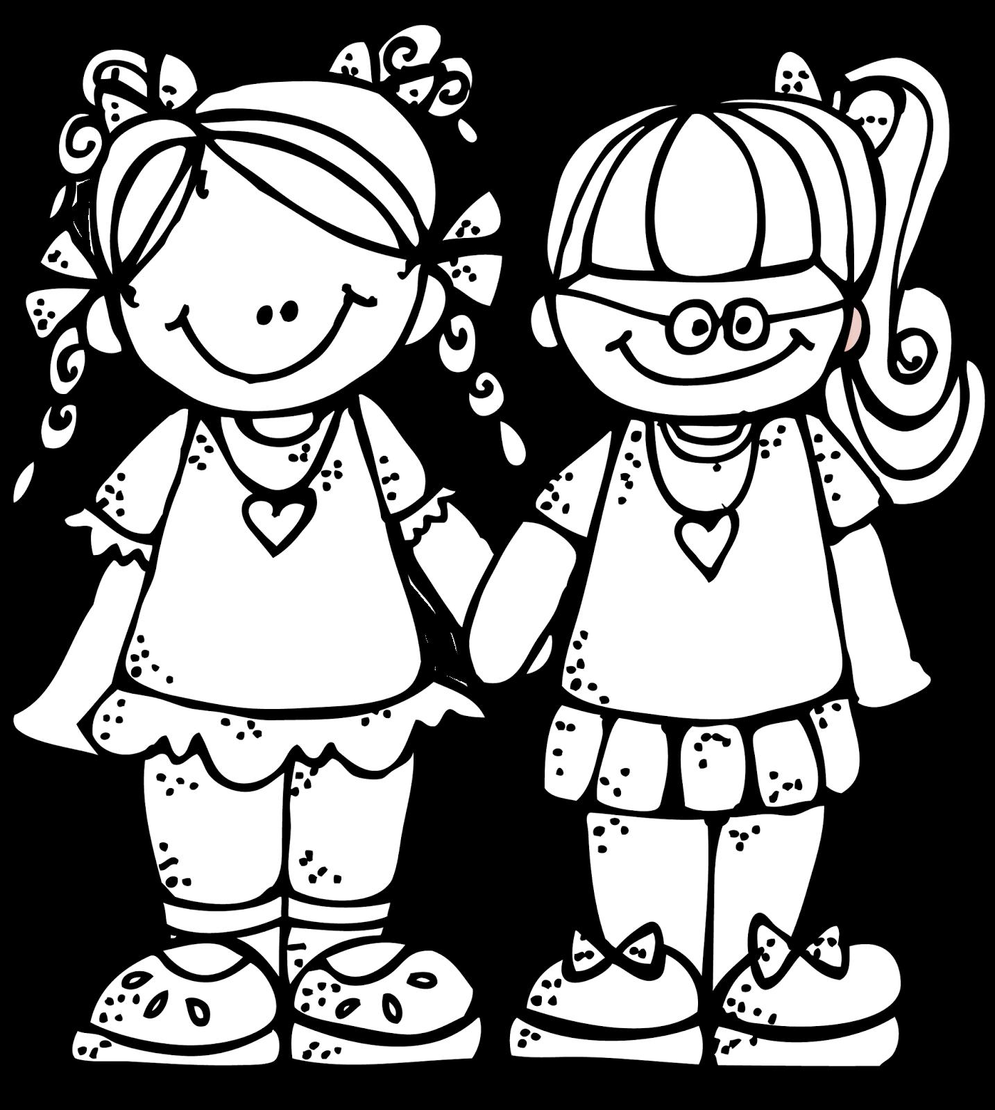 Melonheadz illustrating freebie forever. Lds clipart friendship day