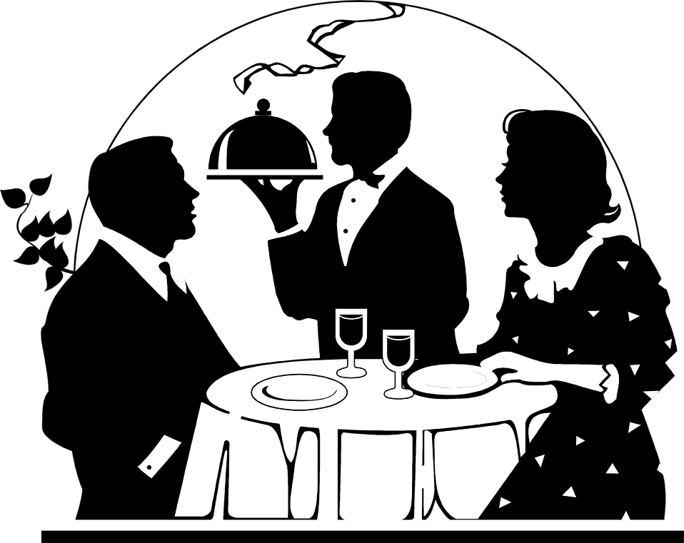 Restaurants clipart restaurant table.  collection of dining