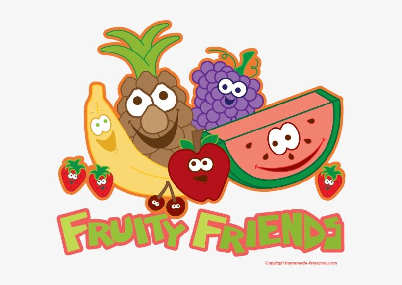 Fruits clipart friend. Fruit clip art fruity