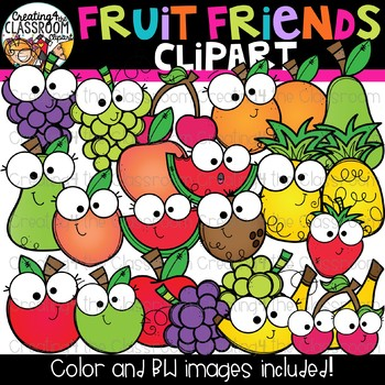Fruits clipart friend. Fruit friends happy