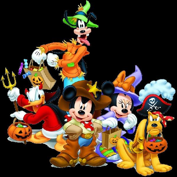 Disney mikey y miney. Clipart halloween goofy