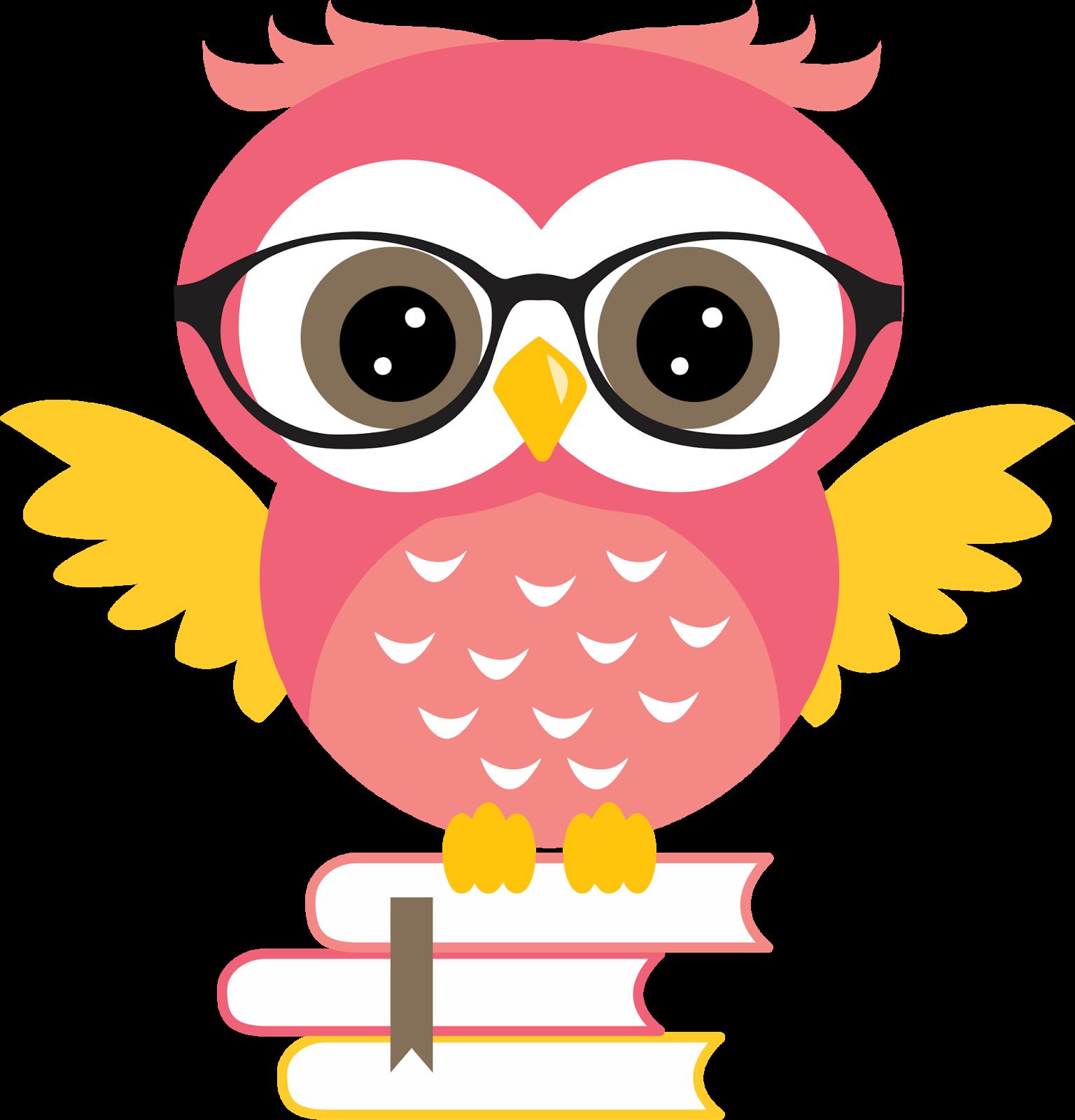 Corujinhas e papeis gr. Clipart homework owl