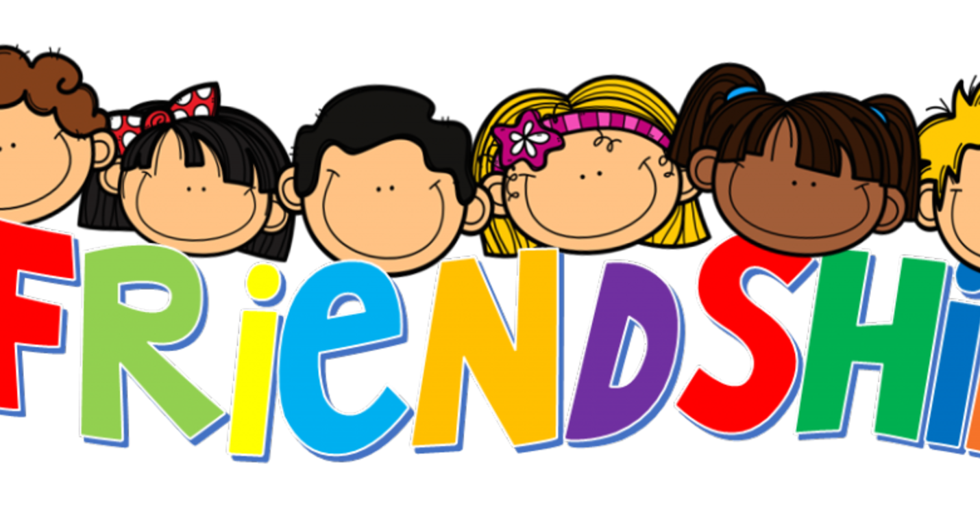Day month february school. Kind clipart friendship