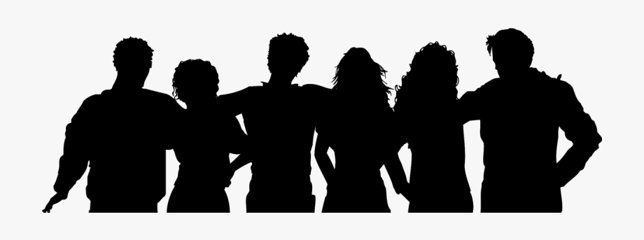 And family png group. Clipart friends shadow