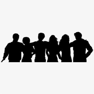 Clipart friends shadow. And family png group