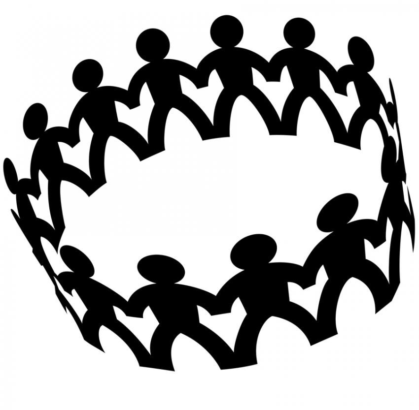 Friendship clipart 8 friend. Free people socializing cliparts