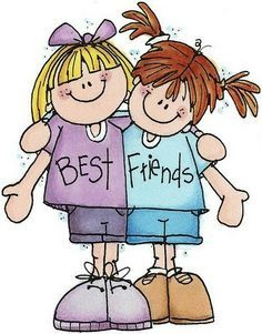 Best friend kids stuff. Friendship clipart bestfriend