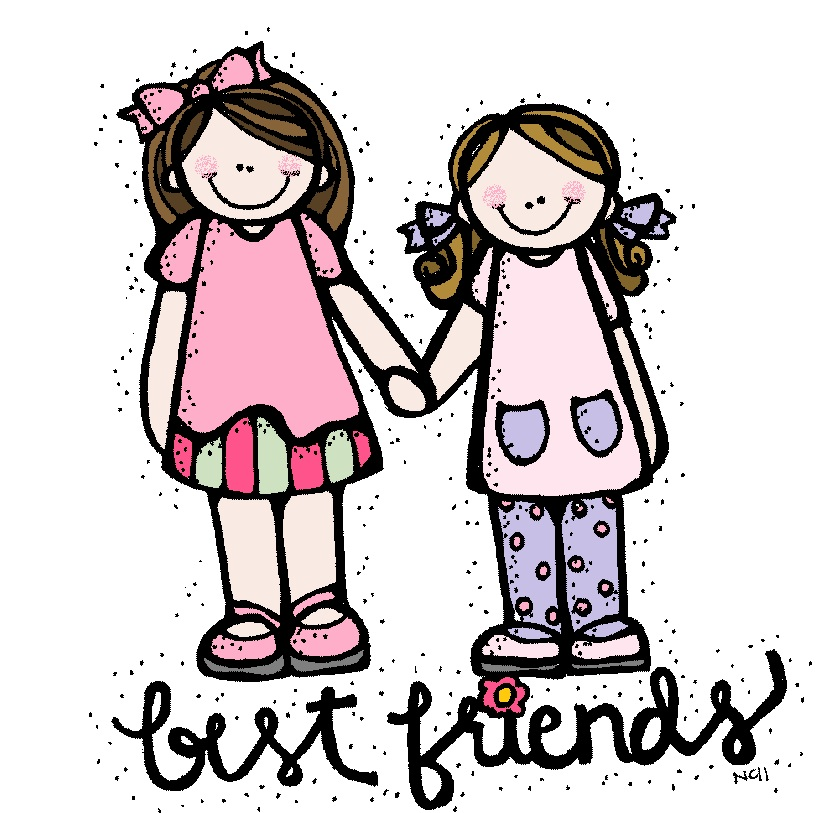 Free best friends cliparts. Friendship clipart bestfriend