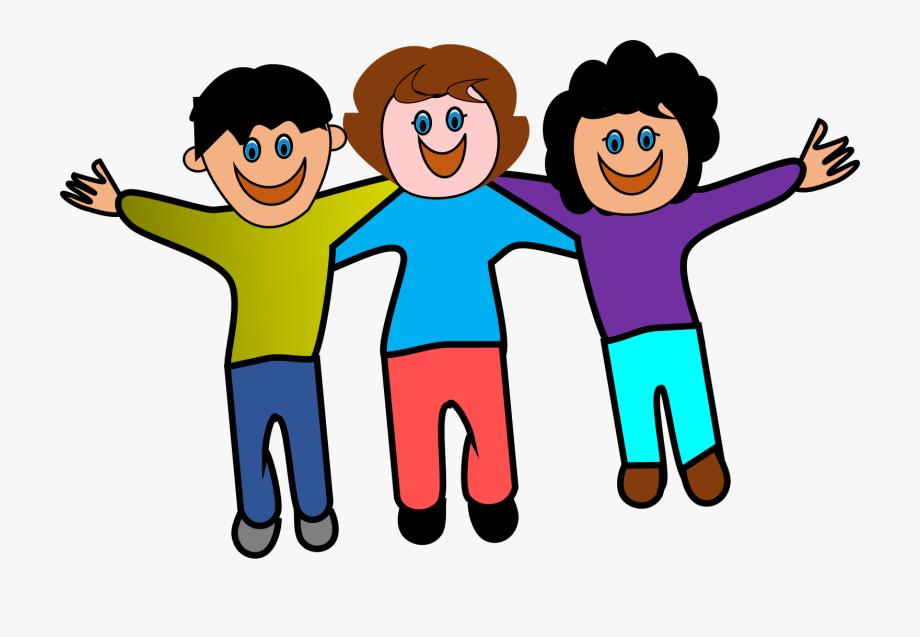 Friendship clipart friendship logo. Friends clip art fans