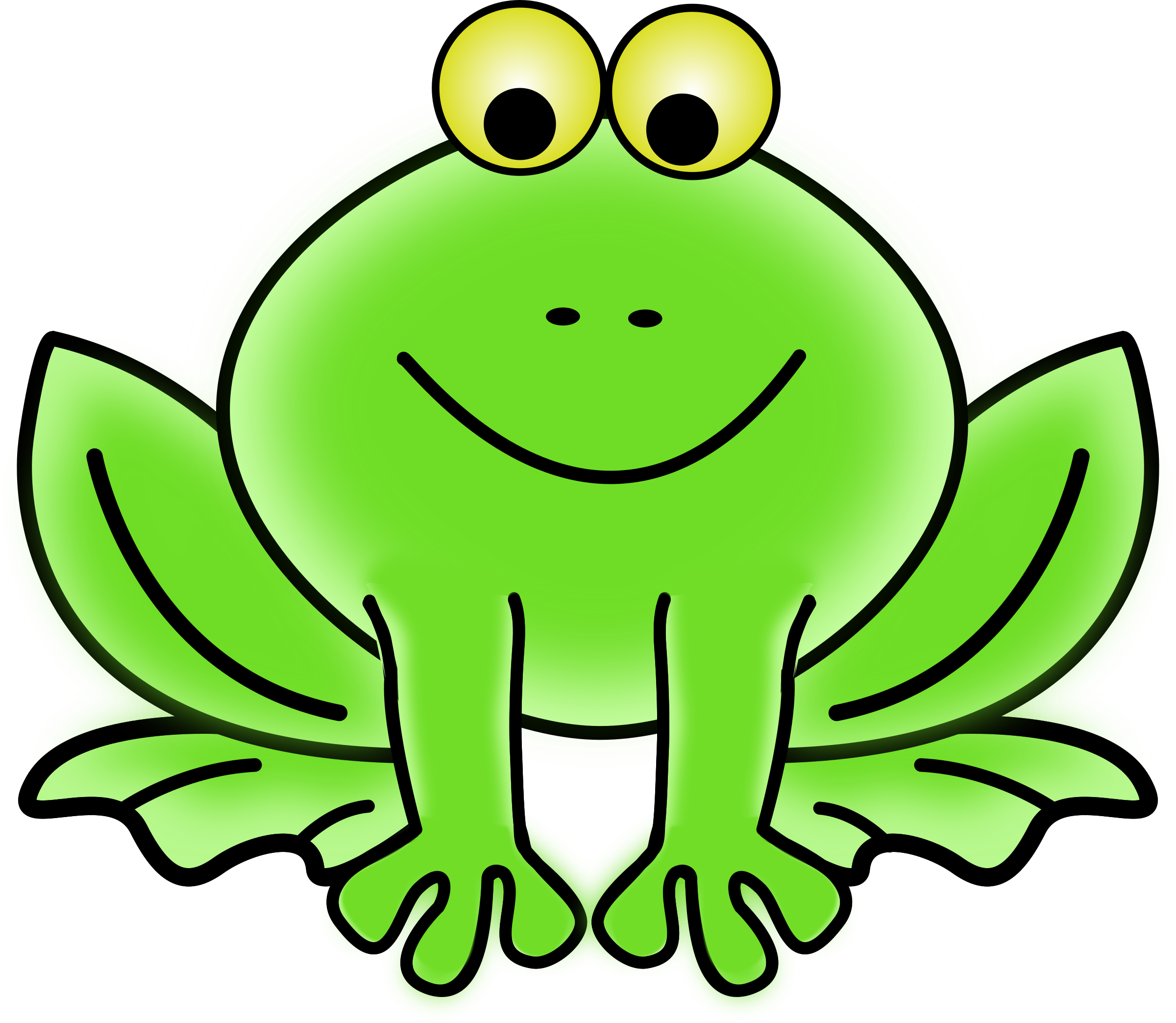 Clipart frog. Big image png