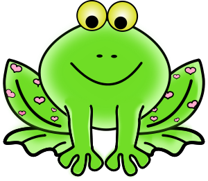 Clipart frog. Free cute clip art