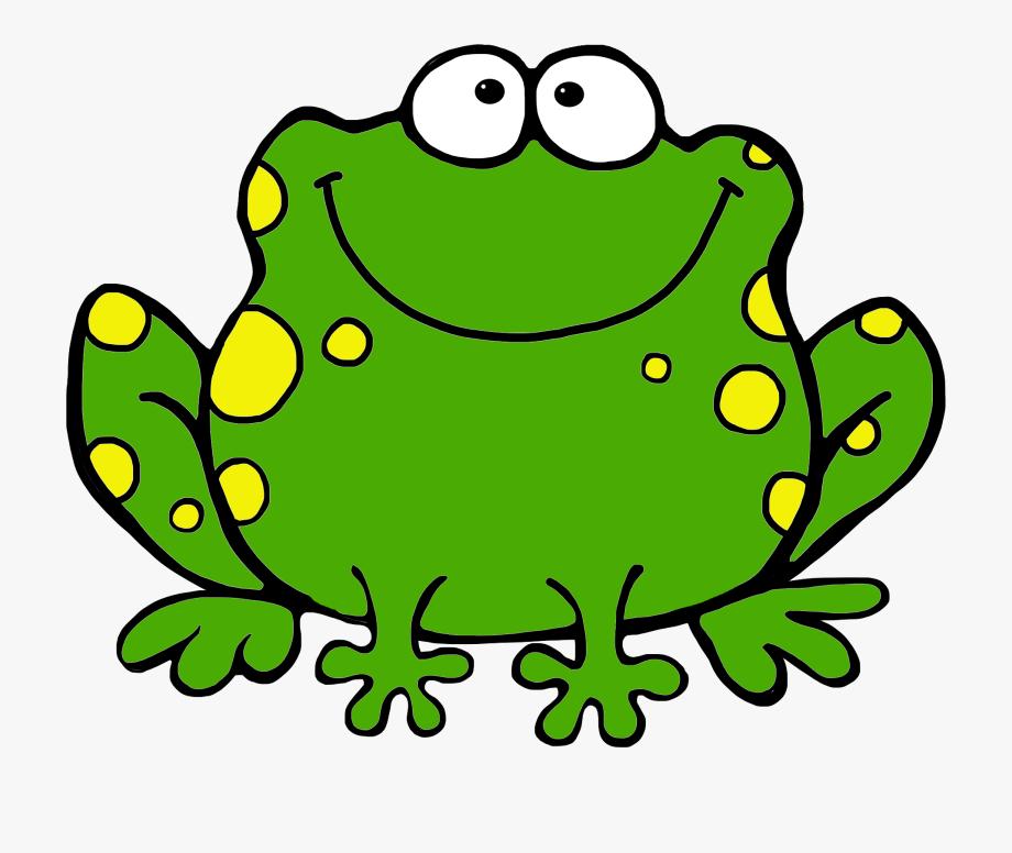 Frog clipart. Clip art for kids
