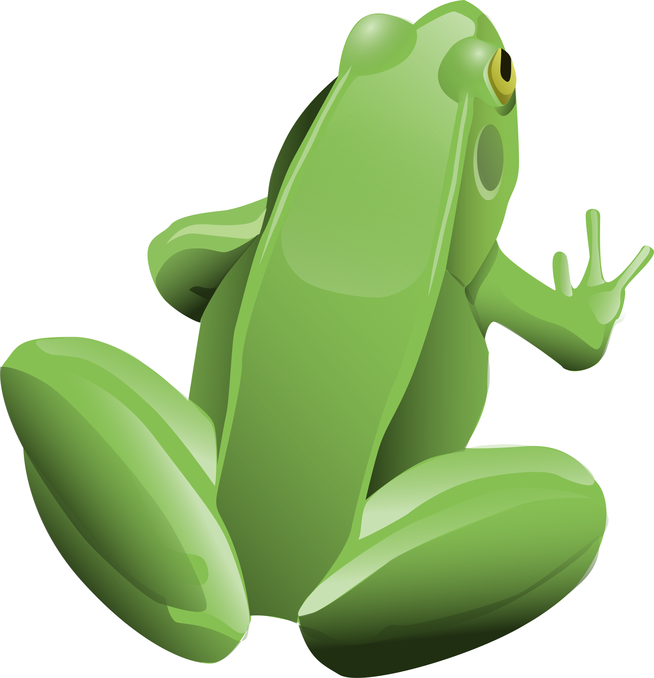 Clipart frog animal. Cool big image png
