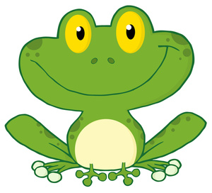 Free clip art image. Clipart frog animal