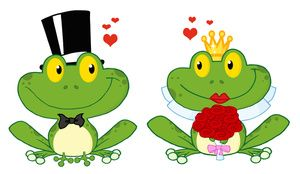 Wedding image frog and. Frogs clipart boy