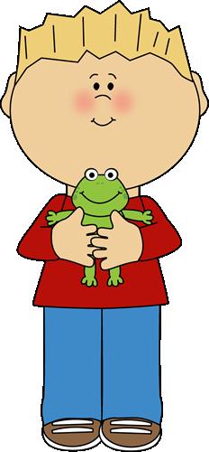 clipart frog boy