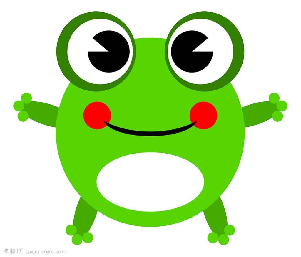 Cartoon animation clip art. Toad clipart glass frog