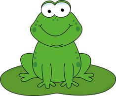 best clip art. Frog clipart colored
