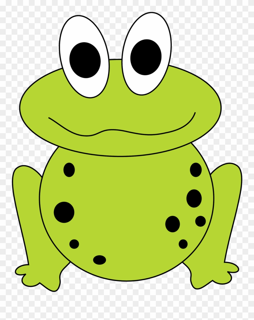 Frogs clipart easy. Frog clip art cute