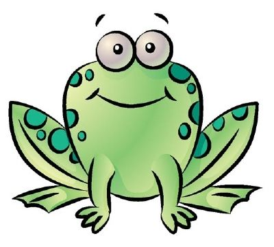 How to draw a. Frogs clipart easy
