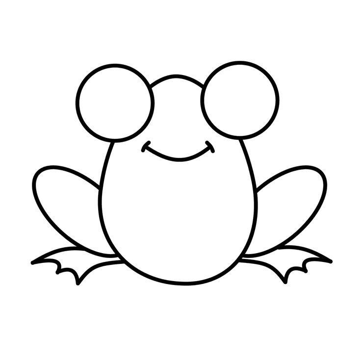 Collection of frog free. Frogs clipart simple
