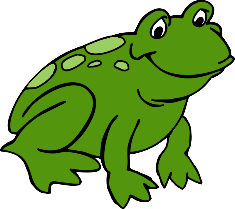 Green clipart frog.  collection of for
