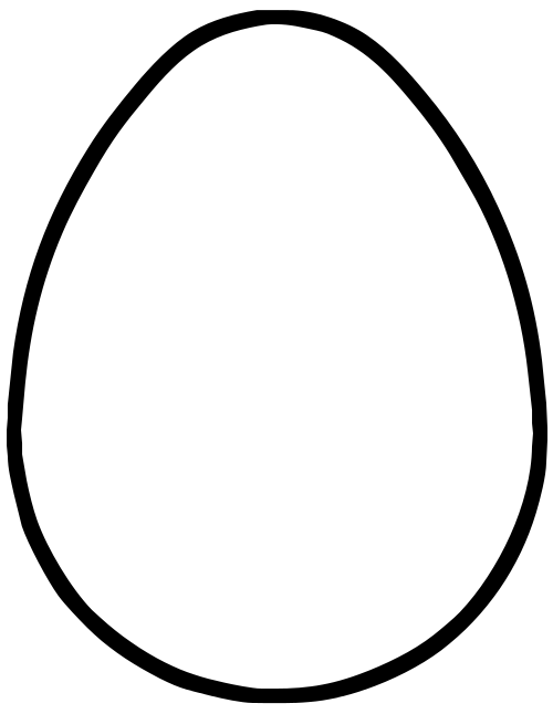 Ham clipart egg carton. Line drawing at getdrawings