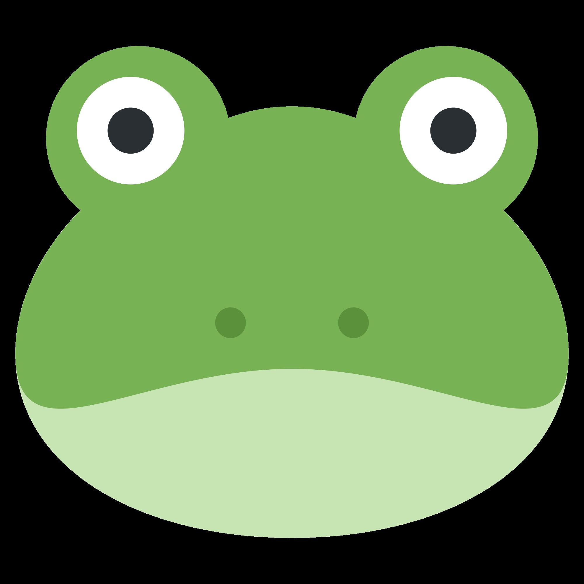 Emoji clipart frog. File twemoji f svg