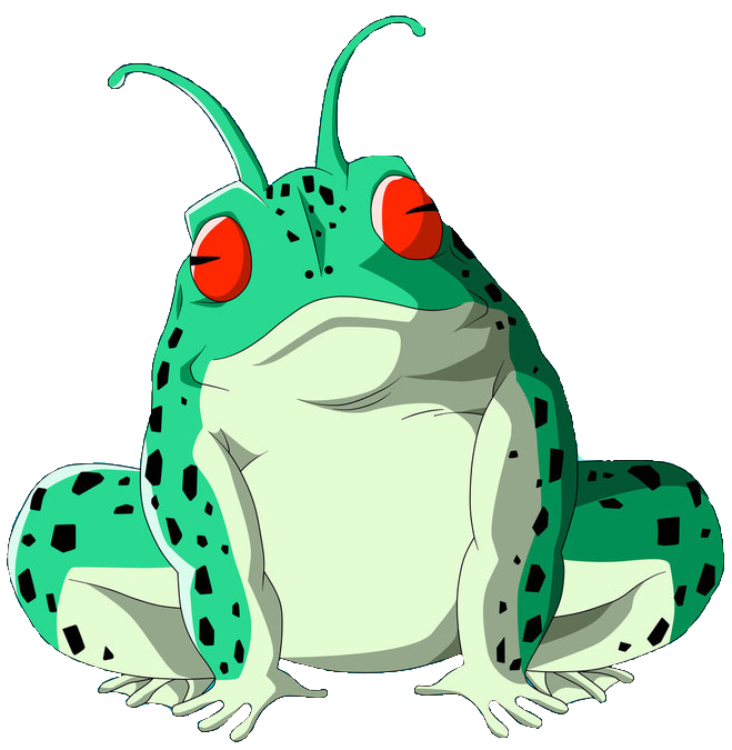 Tired clipart frog. Captain ginyu villains wiki