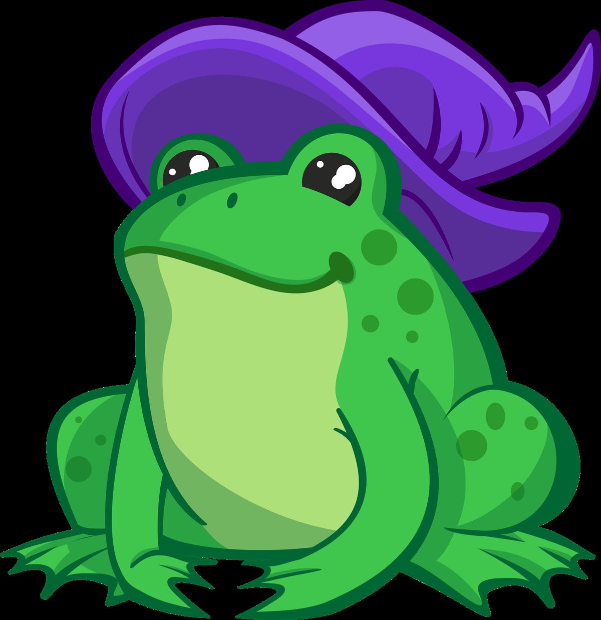 frog clipart halloween