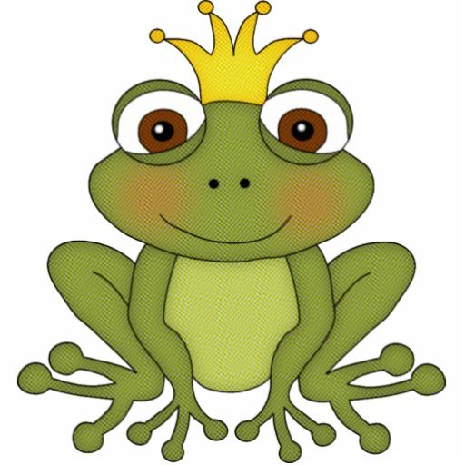 Fairy tale with crown. Fairytale clipart frog prince