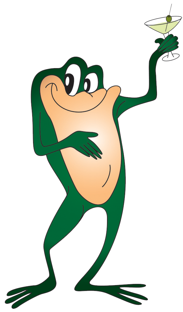 The and . Clipart frog fly