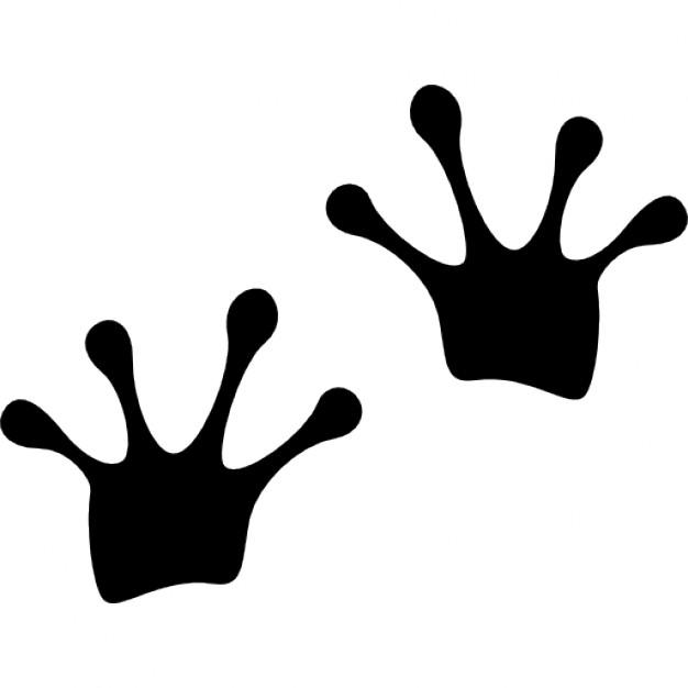 Free footprints cliparts download. Footprint clipart frog