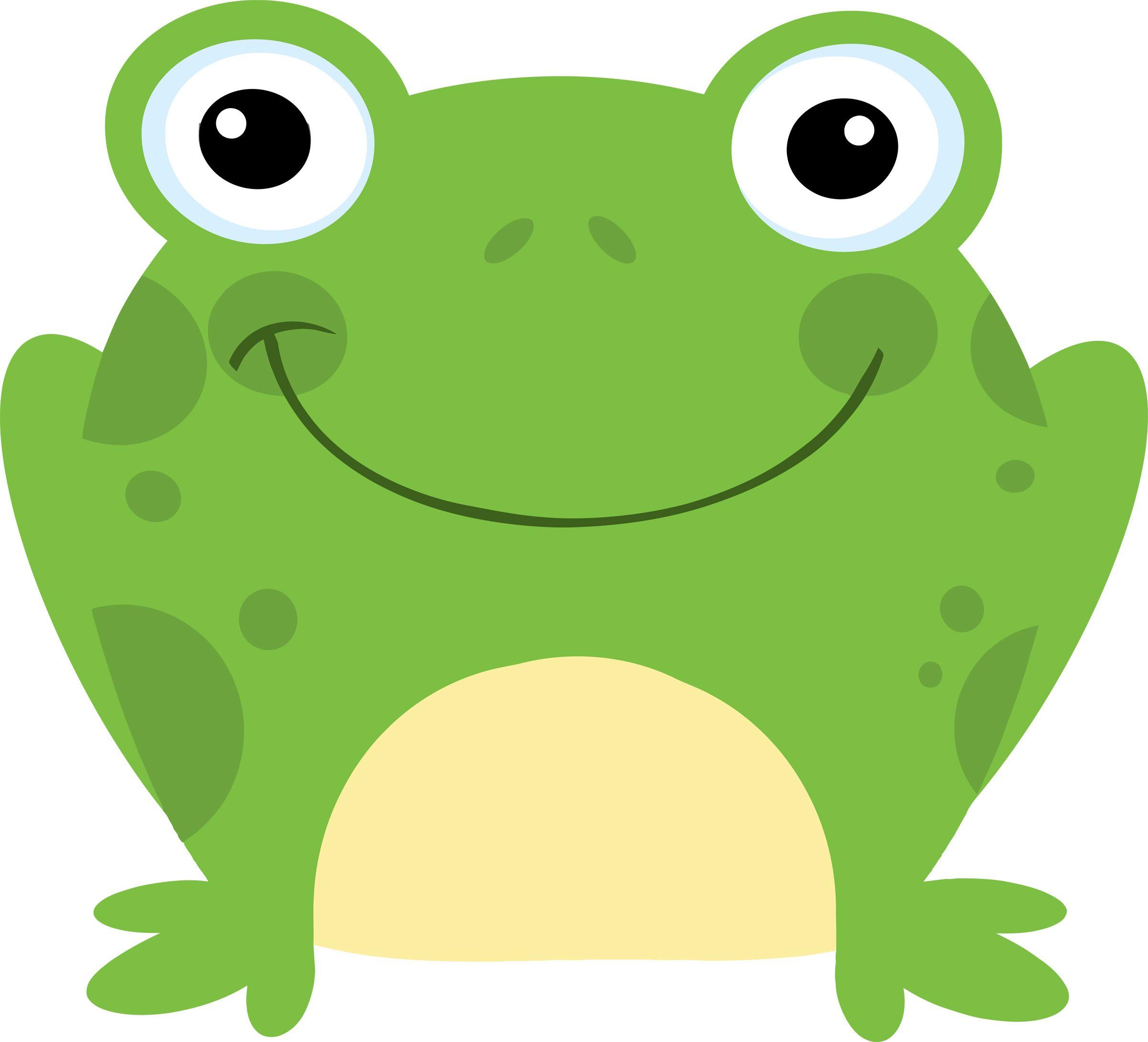 Preschool school illustration happy. Toad clipart small frog