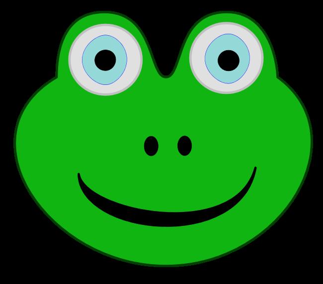 frog clipart head